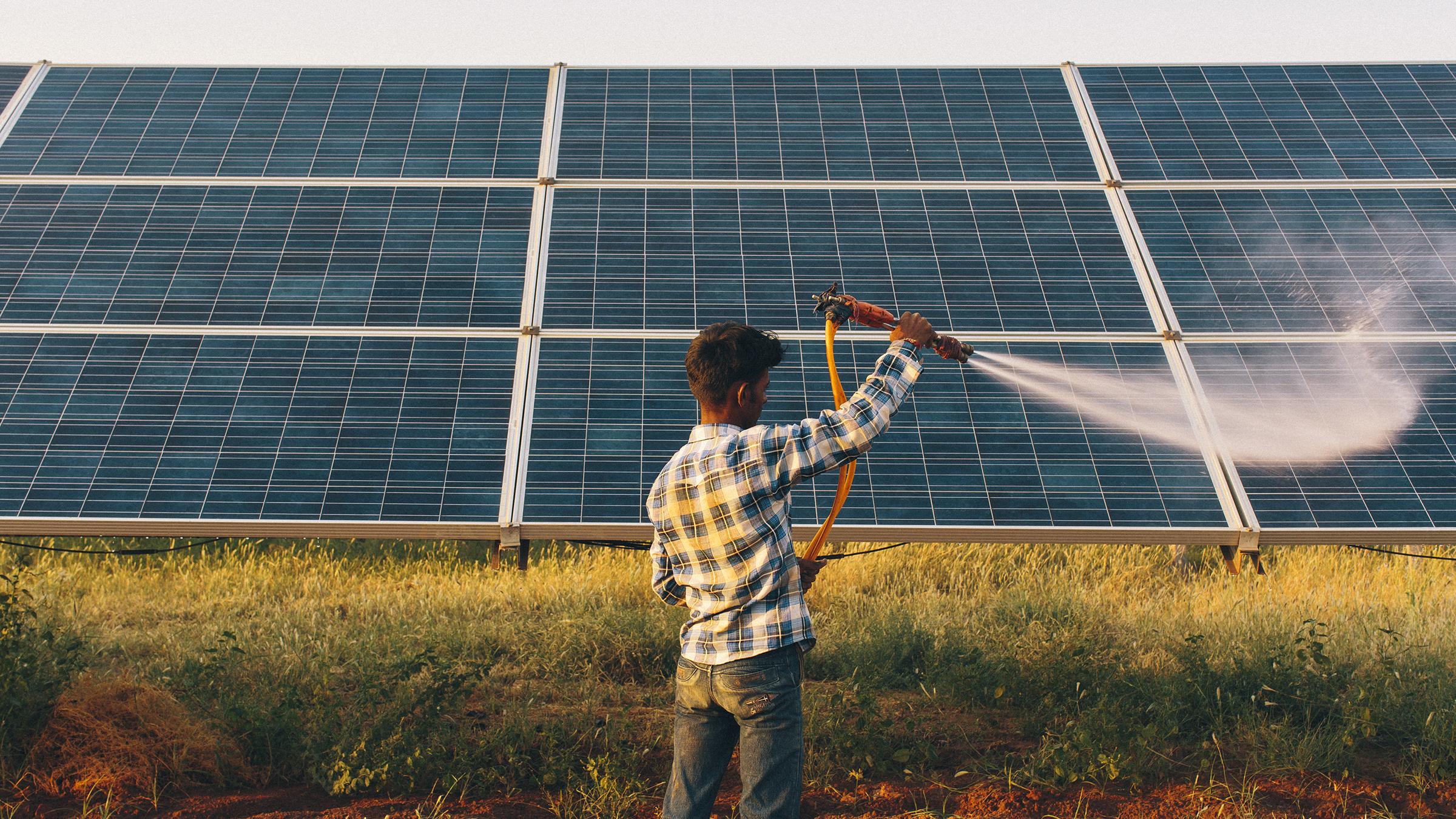 Energia solar de agricultores